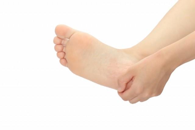 足の裏の痛みの写真
